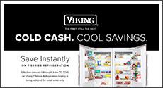 Viking Cool Cash. Cool Savings. Rebate