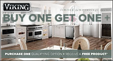 Viking - Save up to an $3,946 Instantly with the purchase of select Viking Appliances. Expires: 12-31-20