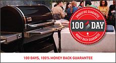 Weber SmokeFire 100 Days 100% Money Back Guarantee
