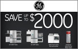 GE - Receive up to a $2000 Mail-In Rebate with the purchase of select GE Cafe or Profile Appliances. Expires: 10-19-14
