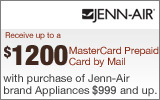 Jenn-Air - Receive up to a $1200 Installation Allowance with the purchase of select Appliances. Expires: 6-30-13