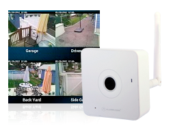 Smart wireless security cameras
