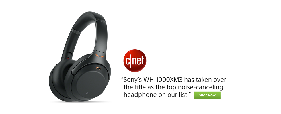 Sony's WH-1000XM3 has taken the title as the top noise-canceling headphone on our list. Shop now